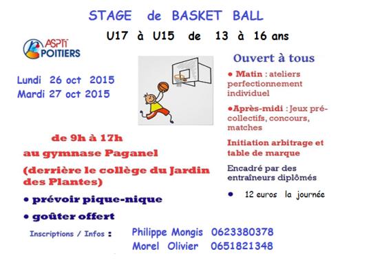 stage toussaint 2015 u17-u15